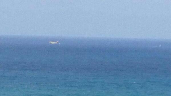 Vom Strand aus gesehen: Ist ein Flugzeug vor Cran Canaria abgestürzt?