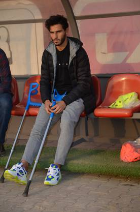 Verletzter Hoffnungsträger: Hamid Fatih.