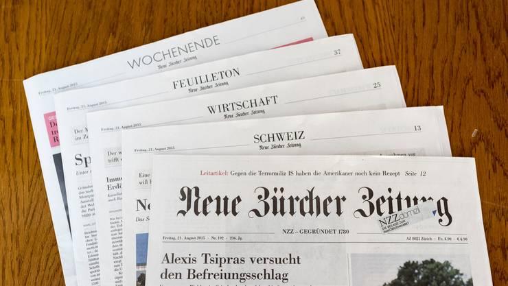Wegen der Coronakrise erscheint die Printausgabe der NZZ teils verkürzt.