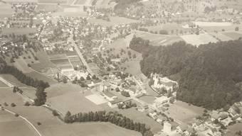Anno 1961 war das Zentrumsgebiet noch dünn besiedelt.