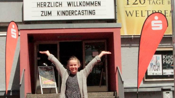 Freut sich über das erfolgreiche Casting: Dana Reitzig aus Sisseln.