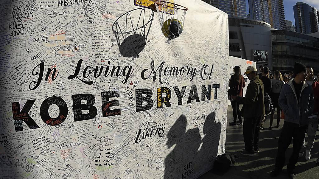Erstes Spiel der LA Lakers nach Bryant-Tod