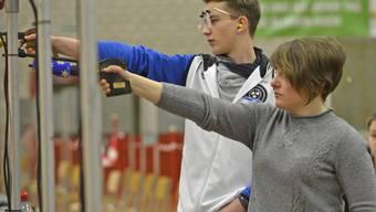 Pistolenschiessen: 25. Aargauer 10-m-Meisterschaften in Aarau