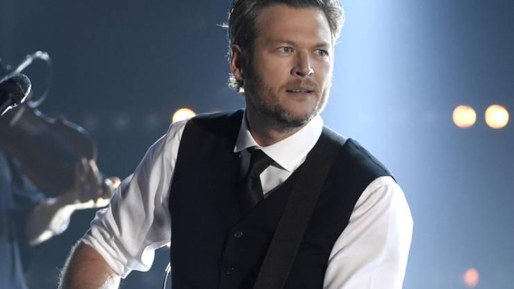 """Country-Sänger Blake Shelton ist dieses Jahr der """"Sexiest Man Alive"""". (Archivbild)"""