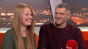 Josephine und Gerrit zu Gast in der Sendung «TalkTäglich».