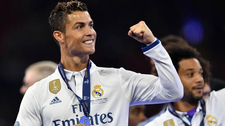 Real gewinnt gegen die Juve die Champions League: Ronaldo, bester Fussballer der Welt - und Reizfigur.