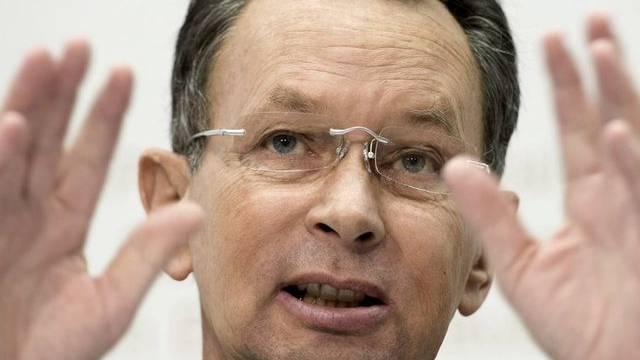 Fordert Widmer-Schlumpfs Entmachtung: FDP-Präsident Philipp Müller (Archiv)