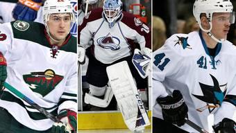 Eishockey-Schweizer in der NHL: Nino Niederreiter, Reto Berra und Mirco Müller schreiben die Schlagzeilen der Woche.