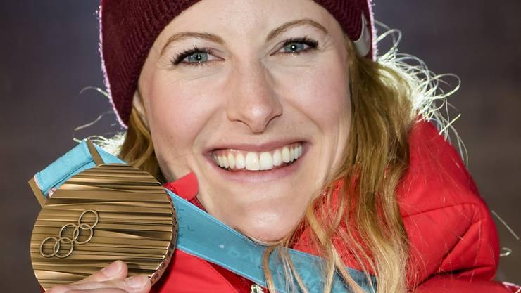 Fanny Smith (Bronze, Frauen Skicross)