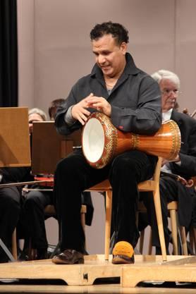 Das Duo Calva, Samir Essahbi und Sophe Branson mit dem Stadtorchester Grenchen