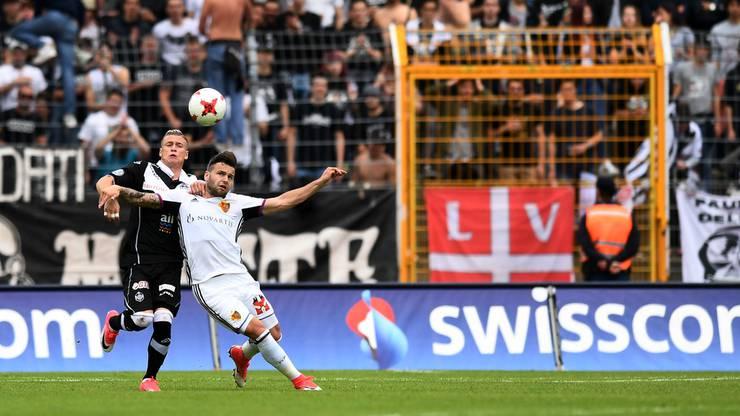 Der FCB und Lugano trennen sich 2:2.