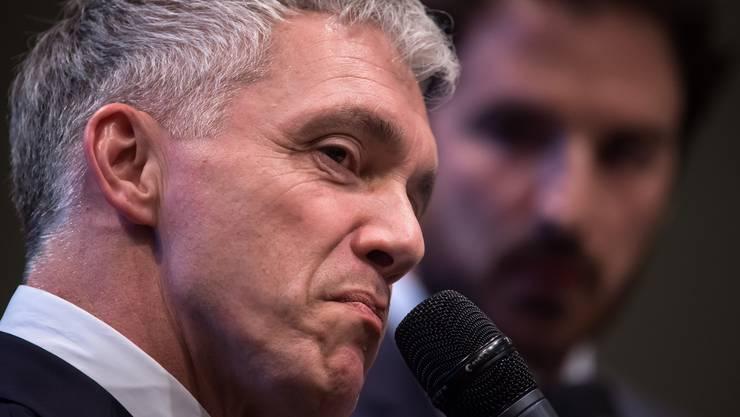 Seit August weg: Ex-Bundesanwalt Michael Lauber hat noch keinen Nachfolger.
