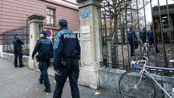 Gerichtsweibel und Polizei stehen in engem Austausch für den Prozess rund um den Saubannerzug. Dieser fand 2016 statt.