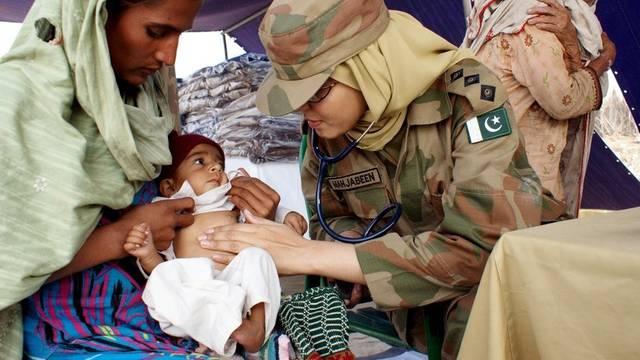 Pakistan ist weiterhin dringend auf Hilfeleistungen vom Ausland angewiesen (Archiv)