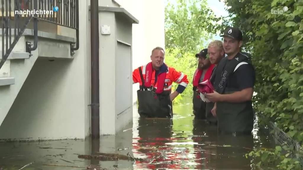 Lauerz überschwemmt