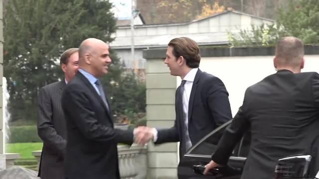 Bundespräsident Berset empfängt Sebastian Kurz in Bern