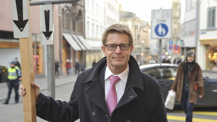 Gewerbedirektor Gabriel Barell steht politisch zunehmend isoliert da.