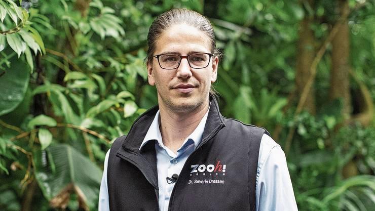 Im Bild: Severin Dressen, neuer Zoodirektor des Zoos Zürich.
