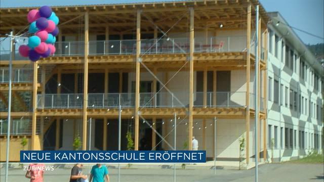 Gymnasium Uetikon öffnet seine Tore