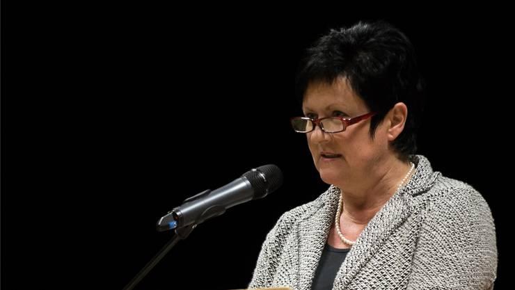 Marianne Meister, die Gemeindepräsidentin von Messen, soll in der Ständeratswahl 2015 antreten.