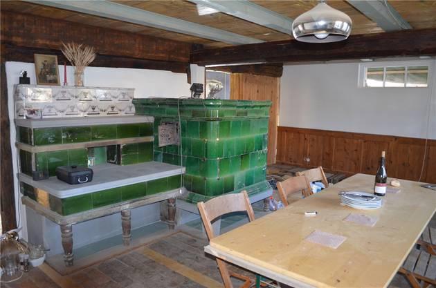 Taglöhner Hans Dahli wohnte hier. Aus der Baustelle ist eine Stube geworden.
