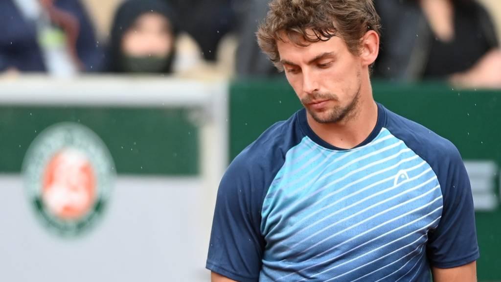 Rückschlag nach einem zuvor guten Turnier: henri Laaksonen
