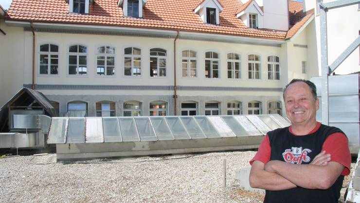Alex Künzle freut sich auf den baldigen Ausbau der Brauerei