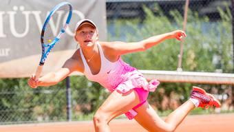 Die frisch gebackene Aargauer Meisterin startet als Turniernummer 3 in der U16-Kategorie.