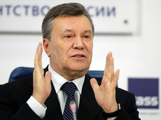 Der ukrainische Ex-Präsident Viktor Janukowitsch.