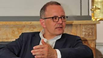 Hanspeter Hilfiker (FDP), 100 Tage Aarauer Stadtpräsident. Ueli Wild