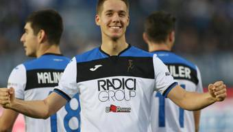 Mario Pasalic erzielte das 2:0 für Atalanta Bergamo (Archivbild)