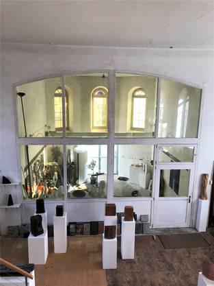 Atelier und Ausstellungsort zugleich: Die Kapelle ist 145 Jahre alt.