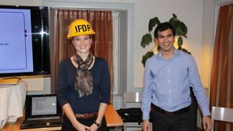 Anna Wartmann übernimmt die Führung der Aargauer Jungfreisinnigen von Yatin L. Shah.