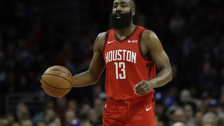 James Hardens Punkte verhelfen den Houston Rockets in Philadelphia nicht zum Sieg
