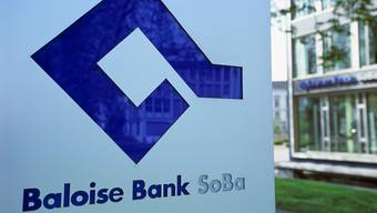 Baloise Bank SoBa hält Gewinn. (Archiv)