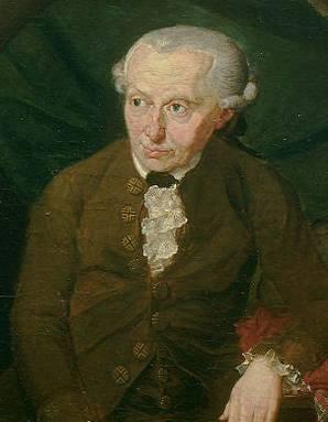 Der grosse Aufklärer Immanuel Kant in einem Gemälde von Gottlieb Döbler von 1791.
