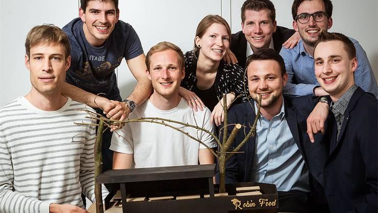 Das Team von Robin Food.