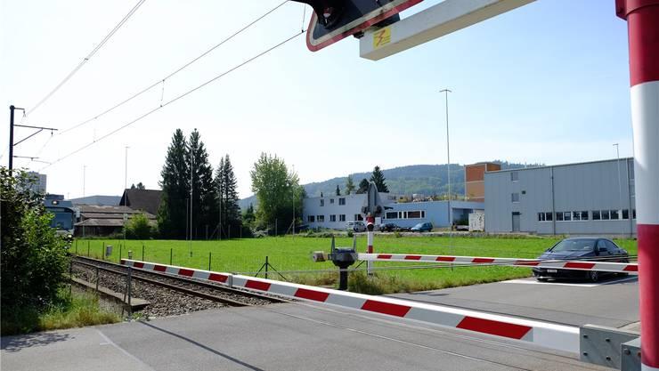 Hier auf dem Areal zwischen WSB-Trassee und Pneuhaus Blöchlinger will die Heilsarmee ihr neues Zentrum realisieren.Rahel Plüss
