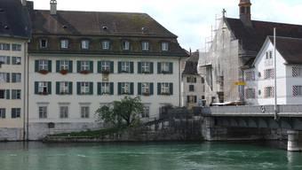 Bauarbeiten in der Solothurner Spitalkirche