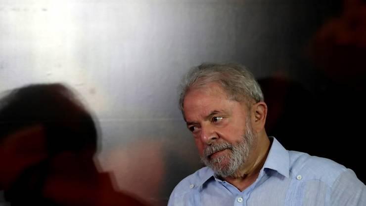 Musste seinen Pass abgeben: der wegen Korruption verurteilte brasilianische Ex-Präsident Luiz Inácio Lula da Silva. (Archivbild)