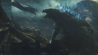 """""""Godzilla 2: King of the Monsters."""" schneidet bei den aktuellen Kino-Charts für Nordamerika gut ab und spülte gleich zu Beginn rund 50 Millionen Doller in die Kassen. (Archivbild)"""