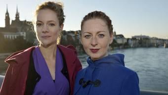 Isabel Schlerkmann und Sabina Lutz haben die App entwickelt.