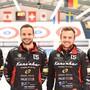 Nach dem Sieg herrscht Freude pur: Das Team Schwaller, bestehend aus Michael Brunner, Marcel Käufeler, Romano Meier und Yannick Schwaller.
