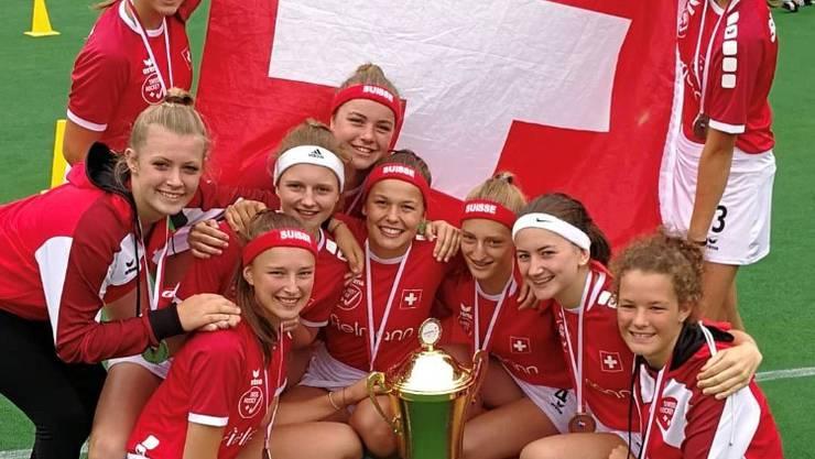 U16 Girls EM Silberteam Schweiz