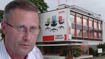 Giroflex-CEO Frank Forster: «Es ist klar, dass vor allem der Produktionsstandort Schweiz auf dem Prüfstand steht.»