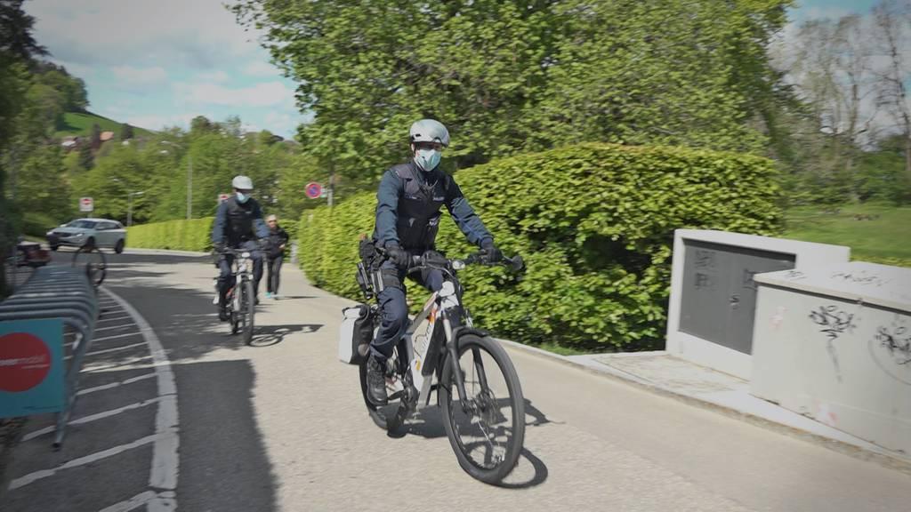 Verfolgung mit E-Bike: St.Galler Velopolizisten mit Strom im Einsatz