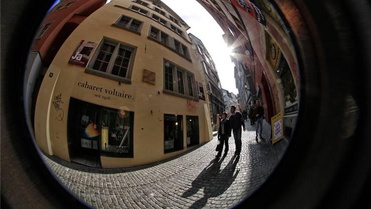 Das «Cabaret Voltaire» im Zürcher Niederdorf ist die Wiege des Dadaismus.