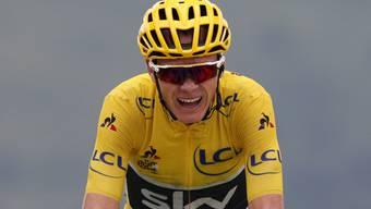 Chris Froome fährt in Südspanien sein erstes Rennen der Saison (Archivbild)