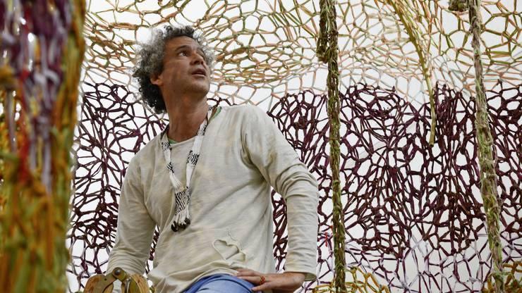 Portrait von Ernesto Neto.