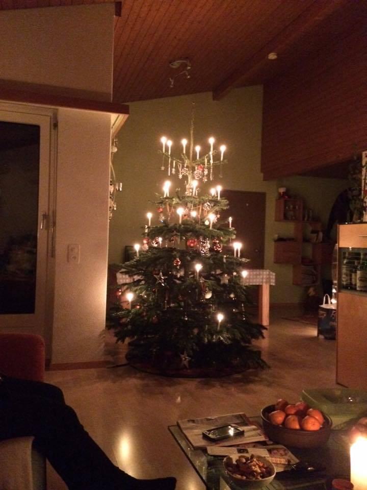 Der Christbaum von Jannine